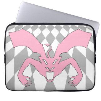 Pink Devil Computer Sleeve