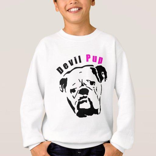 Pink Devil Pup Sweatshirt