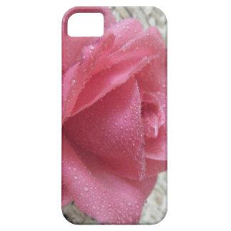 Pink Dew Rose iPhone SE/5/5s Case