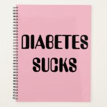 Pink diabetes planner