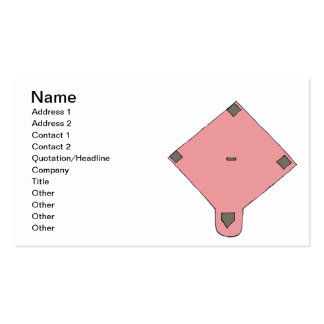 Pink Diamond Double-Sided Standard Business Cards (Pack Of 100)