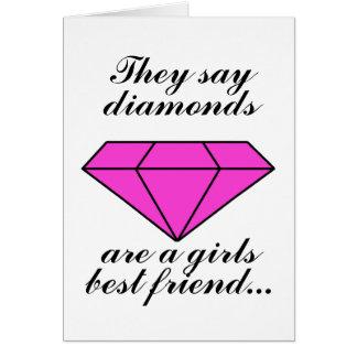 Pink Diamond Card