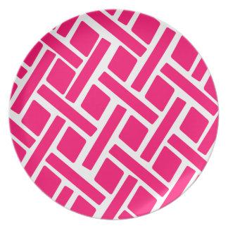Pink Diamond Dinner Plate