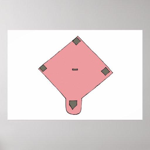 Pink Diamond Poster