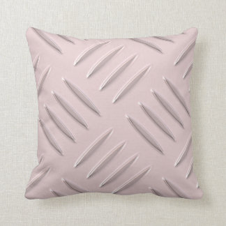 Pink diamond steel plate pillow design custom name