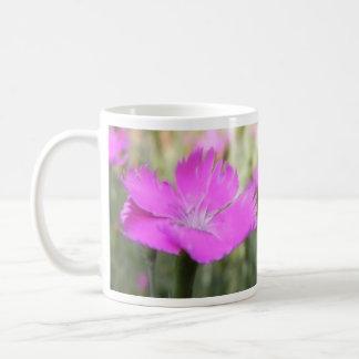 Pink Dianthus Bloom Coffee Mug