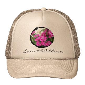 Pink Dianthus/Sweet William Trucker Hat