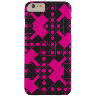 Pink Dice Barely There iPhone 6 Plus Case