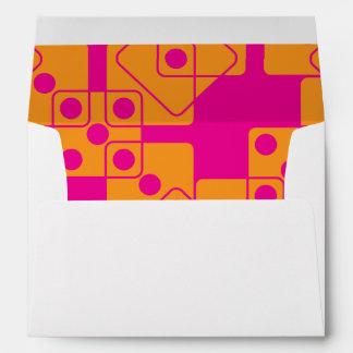 Pink Dice Envelope