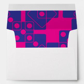 Pink Dice Envelopes