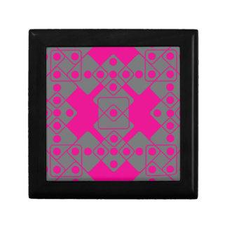 Pink Dice Jewelry Box