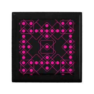 Pink Dice Keepsake Box
