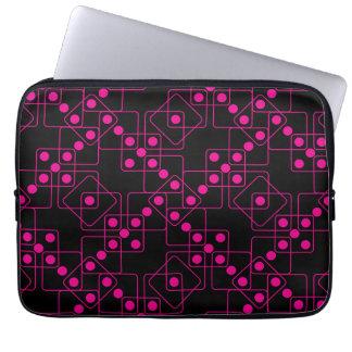 Pink Dice Computer Sleeve