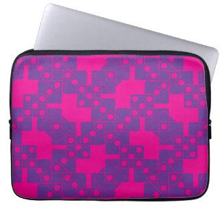 Pink Dice Laptop Sleeves