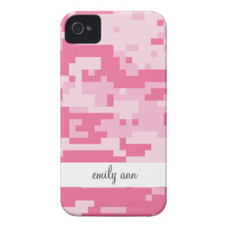 Pink Digital ACU Camoflage Pattern iPhone 4 Cover