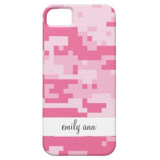 Pink Digital ACU Camoflage Pattern iPhone SE/5/5s Case