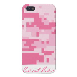 Pink Digital ACU Camoflage Pattern iPhone SE/5/5s Cover