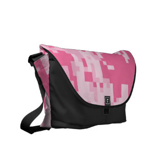 Pink Digital ACU Camoflage Pattern Commuter Bag
