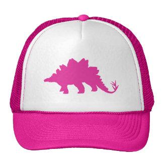 Pink Dinosaur Trucker Hat