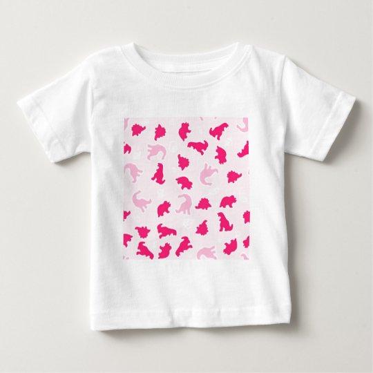pink dinosaurs baby T-Shirt