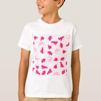 pink dinosaurs T-Shirt