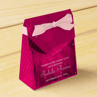 Pink Disco Ball and Sparkle Heels Favor box