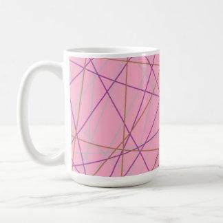 pink disco coffee mug