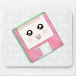 Pink Diskette Mouse Pad