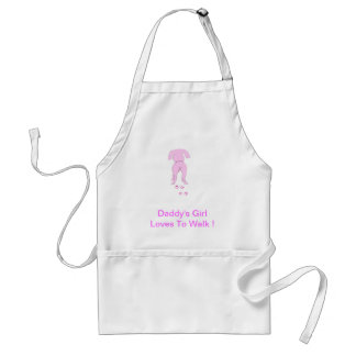 Pink Dog Ears Down Daddy s Girl Apron