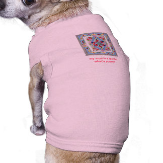 Pink Doggie T-shirt for little dogs