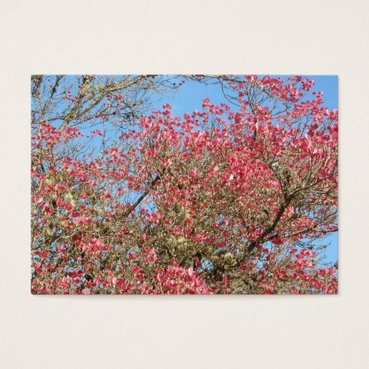 Pink Dogwood Blooms Business Card