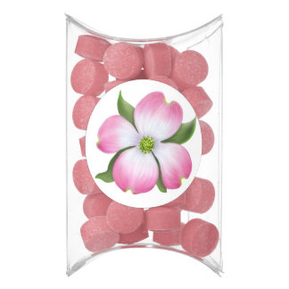 Pink Dogwood Blossom Gum Party Favors