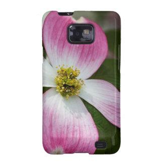 Pink Dogwood Blossoms Macro Samsung Galaxy SII Covers