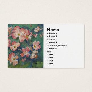 Pink Dogwood Business Card