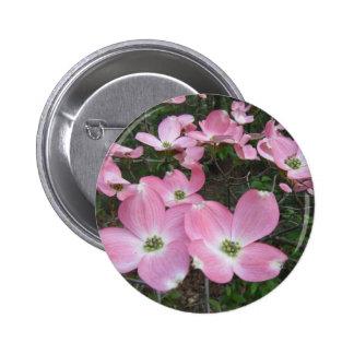 Pink Dogwood Button