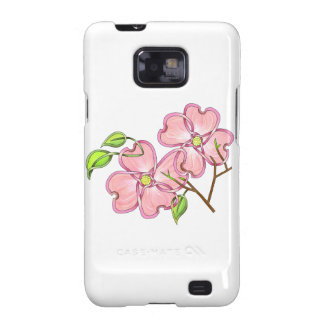 Pink Dogwood Galaxy S2 Case
