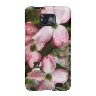 Pink Dogwood Closeup Samsung Galaxy Cover