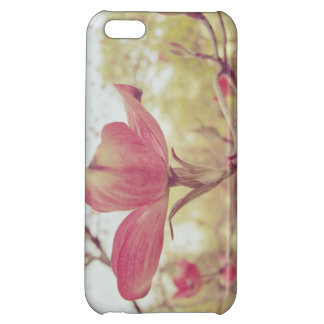 Pink Dogwood Flower iPhone 5C Case