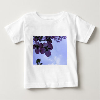 Pink Dogwood Flowers Baby T-Shirt
