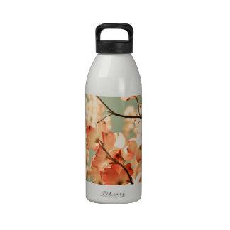 Pink Dogwood Flowers Drinking Bottle