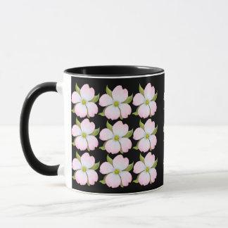 Pink Dogwood Flowers Mug