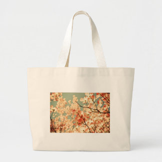 Pink Dogwood Flowers Tote Bags