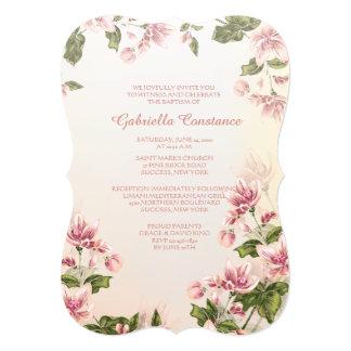 Pink Dogwoods Invitation