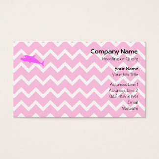 Pink Dolphin. Business Card