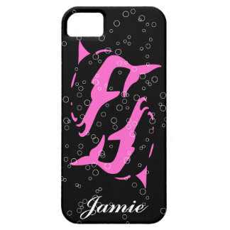 PINK  DOLPHIN  iphone covers