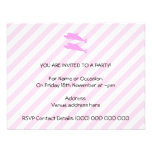 Pink Dolphins. Personalized Announcement