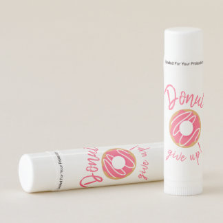 Pink Donut Give Up Lip Balm