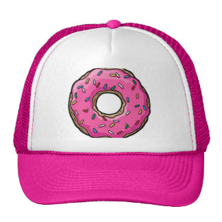 PINK DONUT MESH HATS