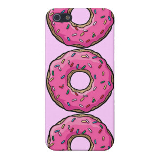 PINK DONUT COVERS FOR iPhone 5