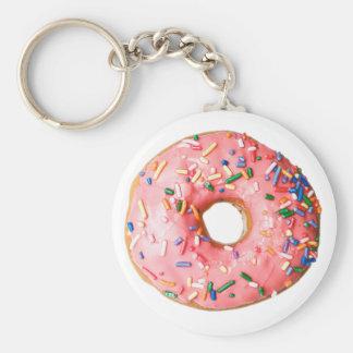 pink donut keychains